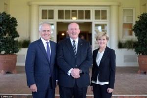 Australia's new PM