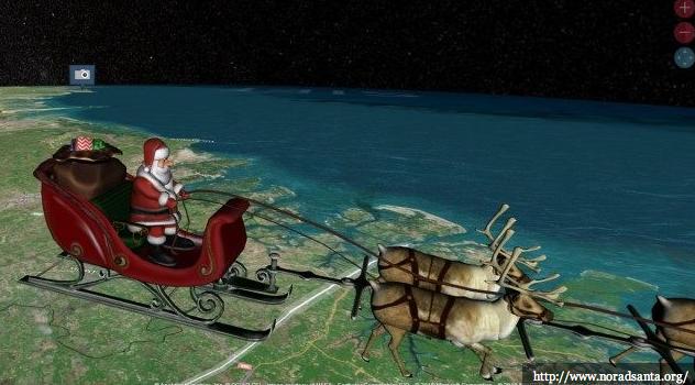 Santa Claus norad